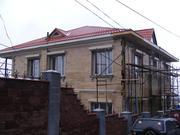 Строительство дома под ключ в чистовой отделке с материалом