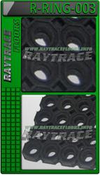 Антискользящий резиновый мат R-RING-003