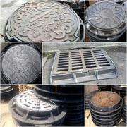 Люки чугунные канализационные Тип С 770*640*85 вес 80 кг